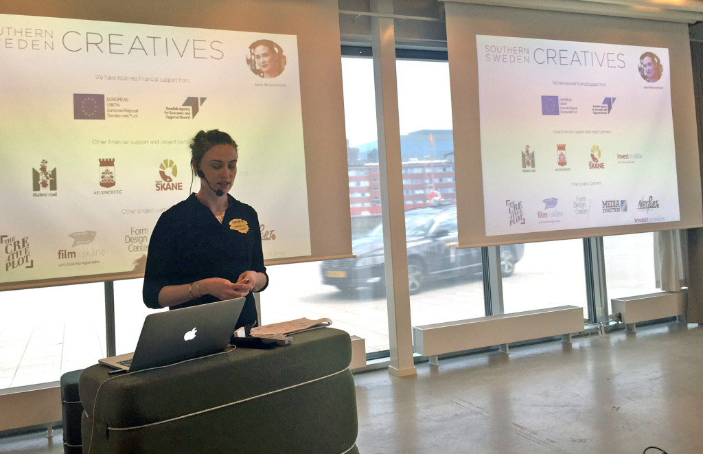 Southern Sweden Creatives lunchseminarie i Malmö