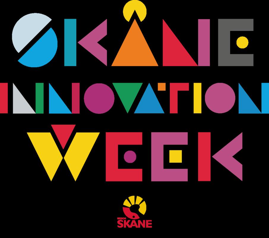 Skåne Innovation Week 2016 logga med Region Skåne