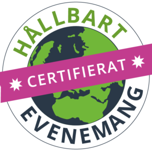 Logga certifikat Hållbart evenemang